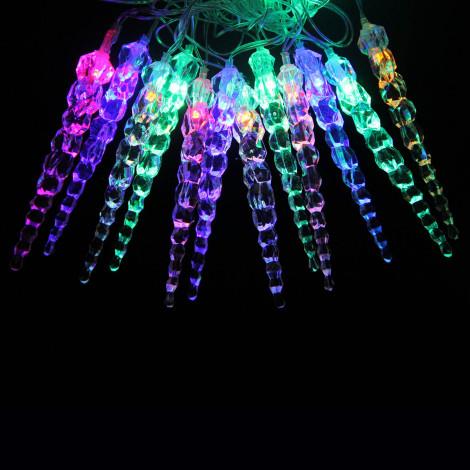 Светодиодная гирлянда Сосульки 22л LED, 4м, Мультисвечение