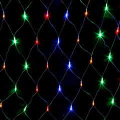 Гирлянда сетка. Светодиодные лампы 240л. LED 2x2м Разноцветная