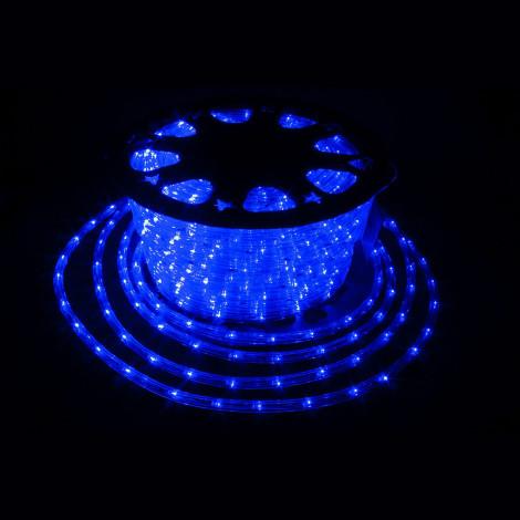 Дюралайт 100м LED 3-жилы Круглый, Синий
