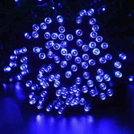 Гирлянда Светодиодная Уличная 10м LED 100л, Синий