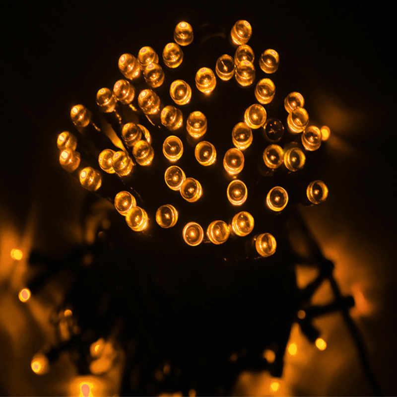 Гирлянда Светодиодная Уличная 10м LED 100л, Желтый